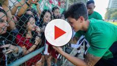 Torcida faz festa em treino aberto do Fluminense antes da volta ao Brasileirão