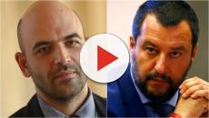 Saviano, nuovo attacco a Salvini: 'Te la prendi con le Ong e lasci impuniti gli scafisti'