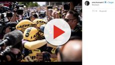 Wout Van Aert trionfa alla decima tappa del Tour de France, Pinot e Uran in ritardo