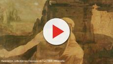 Da Vinci's half-done 'St. Jerome Praying in the Wilderness' displayed
