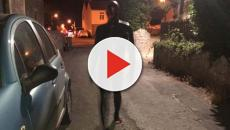 Grunting man in black gimp suit scares villagers in Somerset