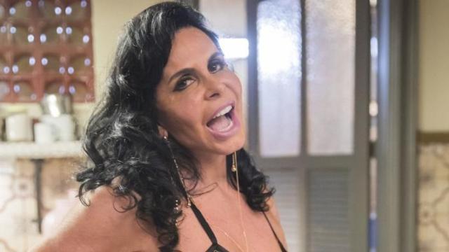 'Não achei bonito', diz Gretchen após ter rosto envelhecido por Tirulipa em aplicativo