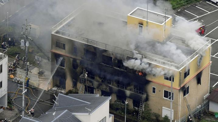 Incêndio deixa mais de 30 mortos em estúdio de criação no Japão