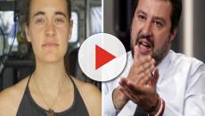 Salvini furioso con Carola Rackete: 'Non vedo l'ora di espellere questa viziata comunista'