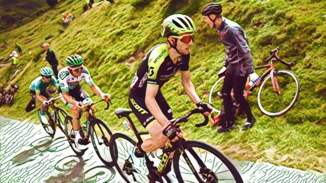 Tour de France: Yates 'aquila dei Pirenei', Nibali sprofonda, Alaphilippe ancora in giallo