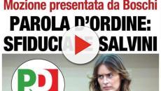 Salvini e la Boschi: botta e risposta sull'articolo pubblicato dal quotidiano Libero