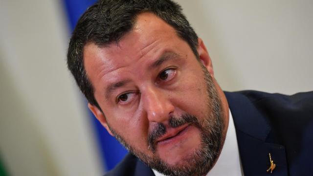 Salvini prossimamente sarà in visita nel paese di Bibbiano