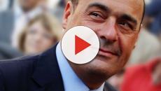 Bibbiano, una giornalista sollecita Zingaretti: il segretario PD ride e dà la colpa al M5S