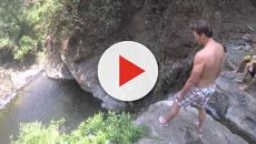 Dwayne 'The Rock' Johnson got chills from Tom Brady's cliff jump
