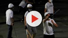 En Hong Kong un banda armada realiza un ataque en el metro y ocasionan 35 heridos