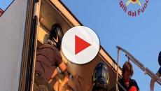 Brindisi, migranti stipati nella cella frigo di un tir