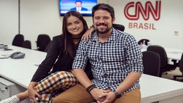 Mari Palma e Phelipe Siani integram o time de jornalistas da CNN Brasil
