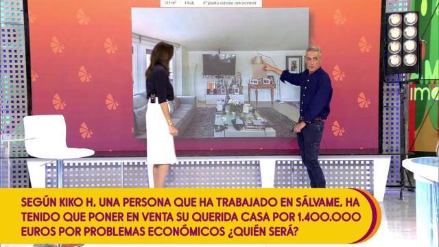 Terelu Campos obligada a vender su dúplex por dinero, según Kiko Hernández