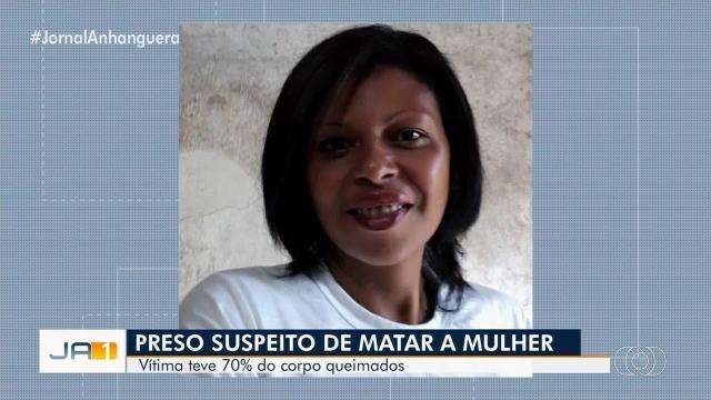 Polícia prende homem suspeito de atear fogo em mulher em Goiás
