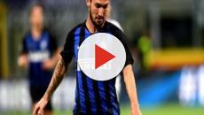 Mercato Inter: Politano potrebbe essere ceduto, l'attaccante piace alla Roma (RUMORS)