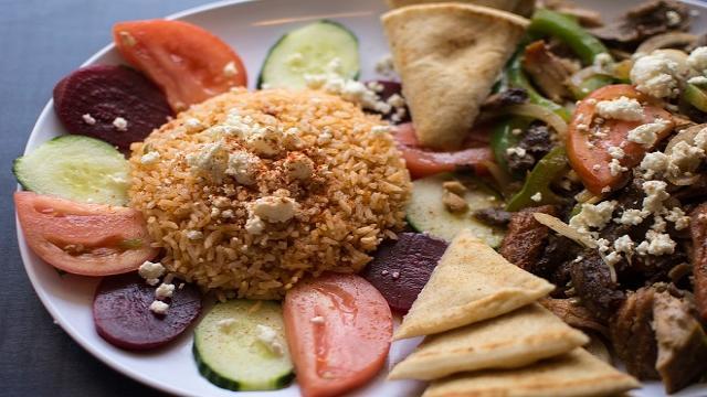 Kolonaki se ha convertido en refrente de la gastronomía griega