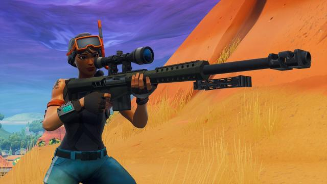 New 'Fortnite Battle Royale' weapon has a fantastic accuracy
