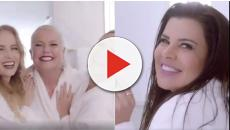 Mara Maravilha aparece em mesma campanha que Xuxa, Angélica e Eliana