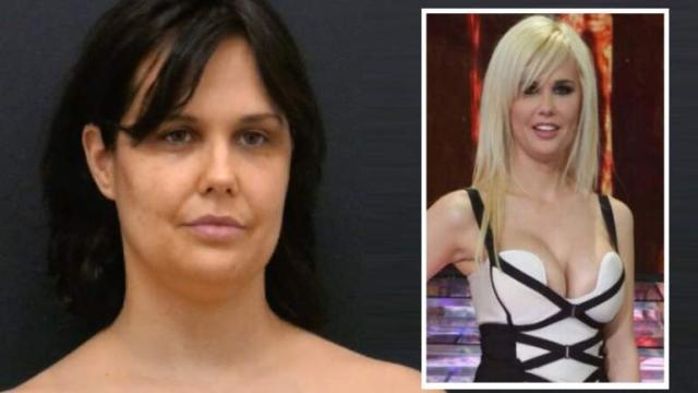 Irreconocible con 10 kilos de más y el pelo negro, Miriam Sánchez la ex de Pipi Estrada