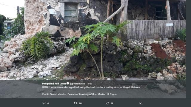 Due terremoti di magnitudo 5,4 e 5,9 colpiscono le Filippine; ci sono morti e feriti