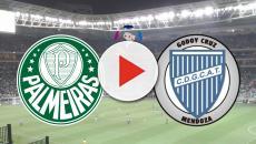 Palmeiras e Godoy Cruz se enfrentam nesta terça (30), às 21h30