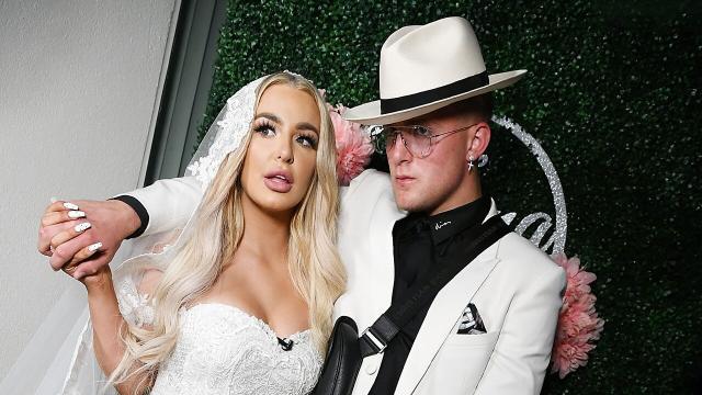 Jake Paul e Tana Mangeau si sono sposati