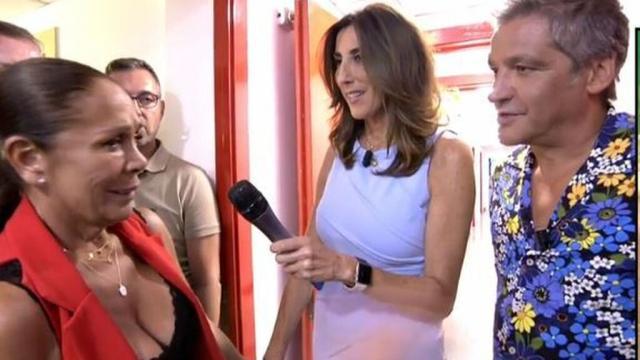 Isabel Pantoja advierte a Gustavo González que no debería hablar de los hijos de ella
