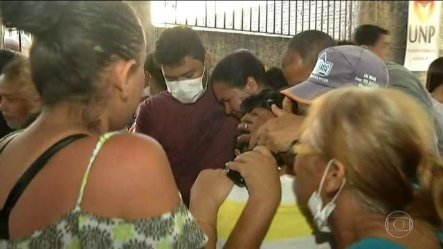 Mãe de dento morto em Altamira relata que viu a cabeça do filho em um saco