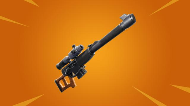 Automatic Sniper Rifle is coming to 'Fortnite Battle Royale'