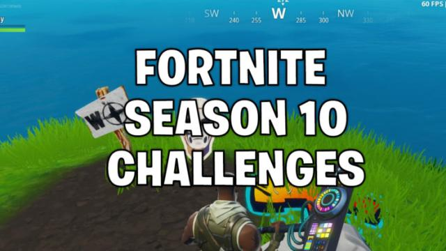 'Fortnite' players aren't happy with season 10 challenges