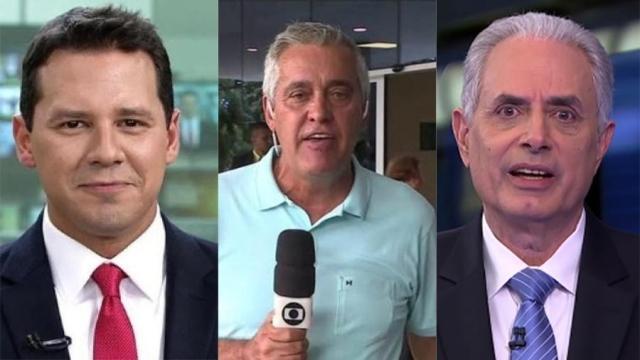 Jornalistas que desrespeitaram as regras da Rede Globo