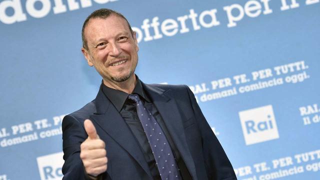 Sanremo 2020, è ufficiale: il conduttore sarà Amadeus