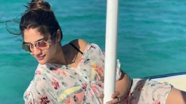 Actress Nusrat Jahan enjoys honeymoon with husband Nikhil Jain