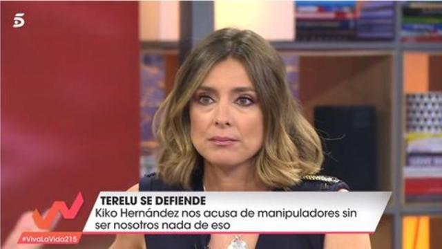 Sandra Barneda responde a Kiko Hernández que no hay ningún interés en manipular imágenes
