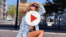 Namorada de Ludmilla usa look grifado de mais de R$11 mil durante viagem à Portugal