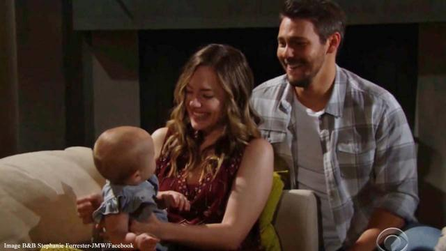 'B&B' parenthood: Liam spends time alone with Hope and baby Beth