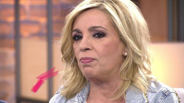 Carmen Borrego asegura que tiene ahora las piernas más delgadas que su hermana Terelu