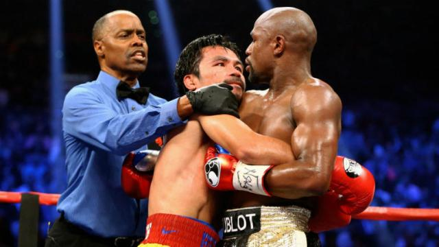 Floyd Mayweather drops hint he's preparing for Manny Pacquiao rematch