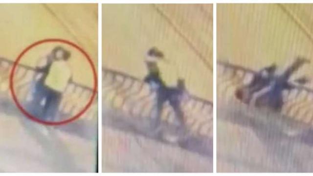 Durante beijo, casal cai de ponte e morre em cidade peruana