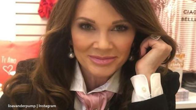 Lisa Vanderpump surprises fans with a stunning gown