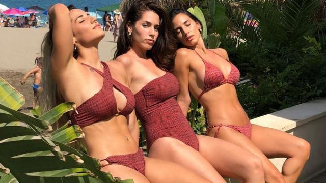 India Martínez y sus hermanas posan en Instagram como las Kardashian 'made in Spain'