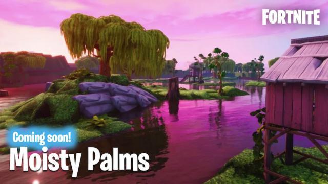 'Fortnite' Season X Moisty Palms Location Leaked