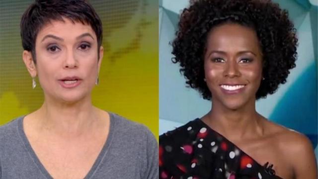 Maju Coutinho substitui Sandra Annenberg na bancada do Jornal Hoje