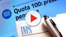 Pensioni Quota 100: esce una nuova nota dall'Inps
