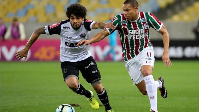 O jogo entre Atlético-MG X Fluminense não será exibido na TV aberta, apenas na fechada