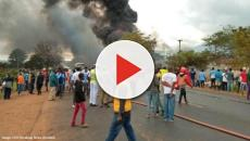 Fuel tanker explosion in Tanzania kills at least 64, injures around 70 people