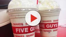 'Five Guys' lanza al mercado un nuevo batido de plátano con bacon