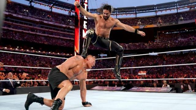 WWE SummerSlam 2019: Seth Rollins Slays Brock Lesnar to Win Back Championship