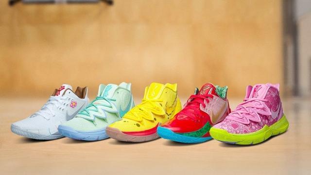 Nike is launching 'SpongeBob Squarepants'-themed sneakers