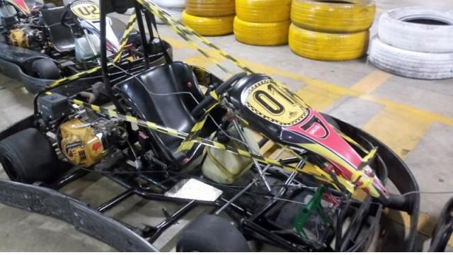 Jovem tem couro cabeludo arrancado em corrida de Kart